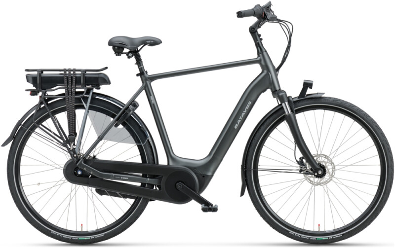 Batavus Finez E-go Active Plus 400 Herren black matt
