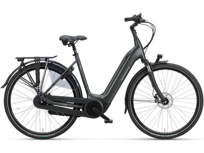 Batavus Finez E-go Power 625 Wave black matt