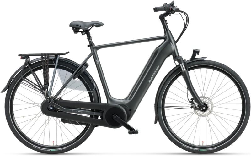 Batavus Finez E-go Power 625 Herren black matt e-Citybike