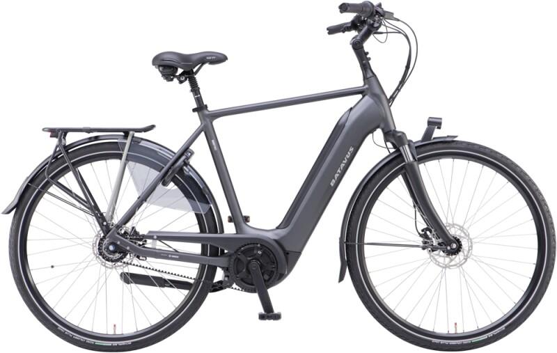 Batavus Finez E-go Power Exclusive Herren black matt e-Citybike