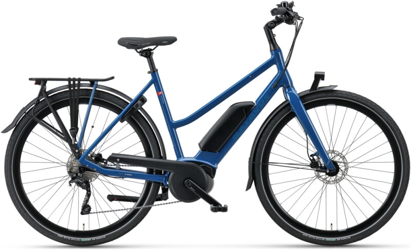 Batavus Dinsdag E-go Sport Trapez greenblue e-Urbanbike