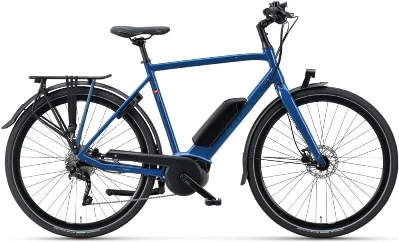 Batavus Dinsdag E-go Sport Herren greenblue e-Urbanbike
