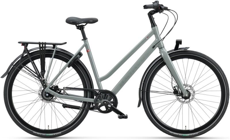 Batavus Dinsdag Exclusive Trapez avon grey Citybike