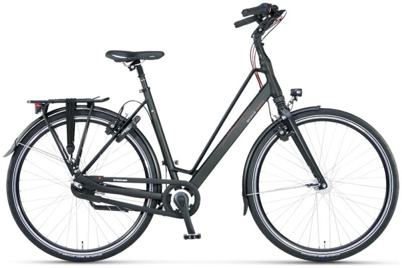 Batavus Escala Curve black matt Urban-Bike