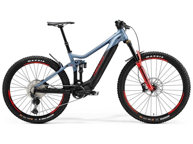 Merida eONE-SIXTY 700 Stahl-Blau/Schwarz