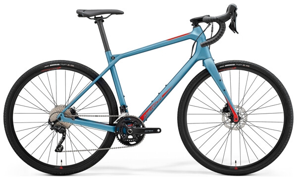 MERIDA - SILEX 4000 Stahl-Blau/Rot