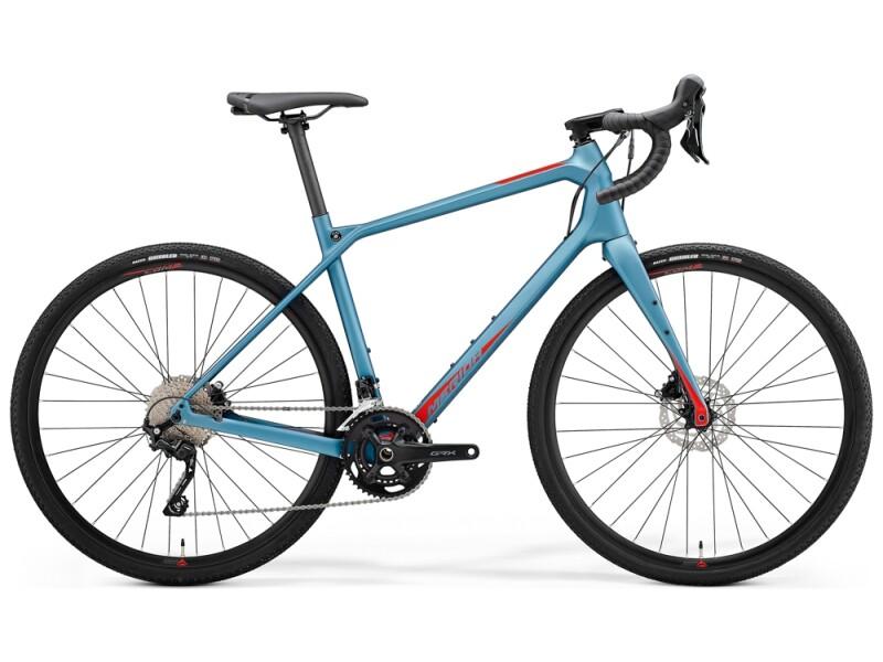 Merida SILEX 4000 Stahl-Blau/Rot