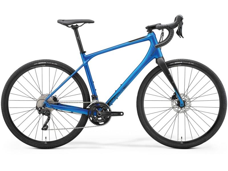 Merida SILEX 400 Matt-Blau/Schwarz
