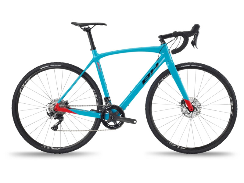BH Bikes RX TEAM 4.0 Turquoise-Red