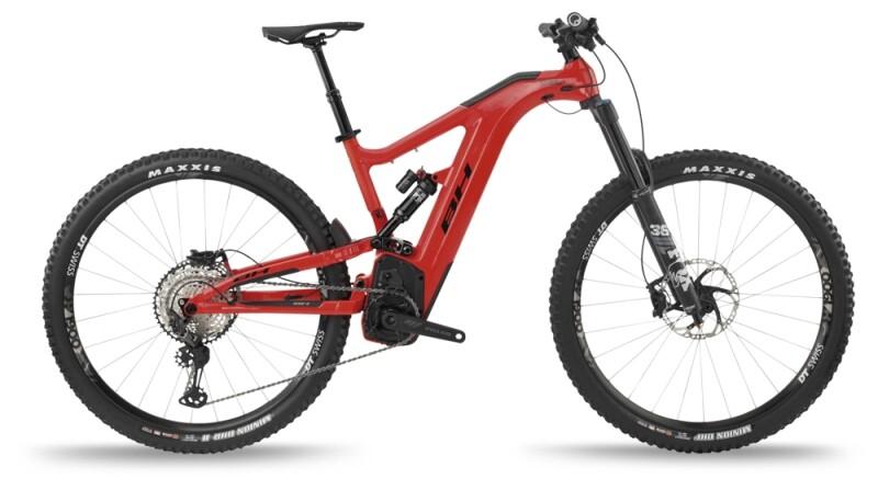 BH Bikes ATOMX CARBON LYNX 6 PRO-S Red-Black e-Mountainbike