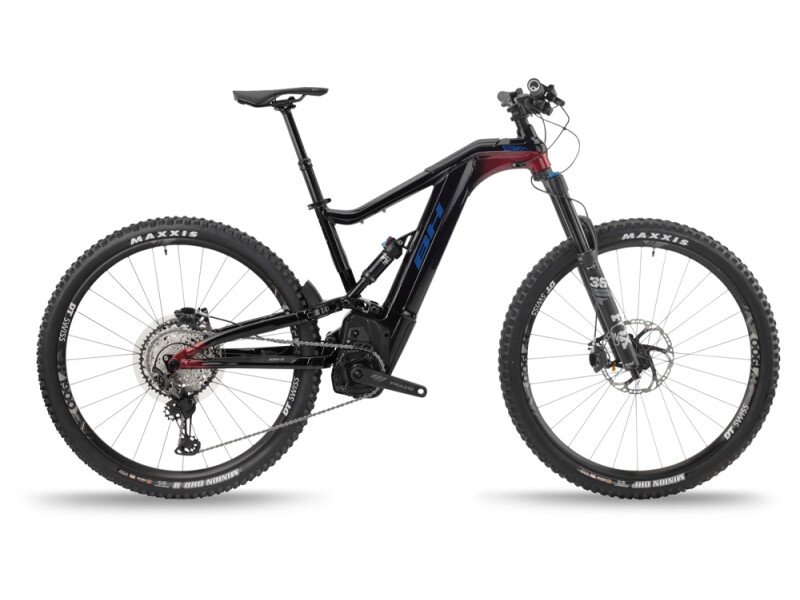 BH Bikes ATOMX LYNX 5.5 PRO-S Black-Red-Blue