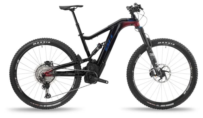BH Bikes ATOMX LYNX 5.5 PRO-S Black-Red-Blue e-Mountainbike