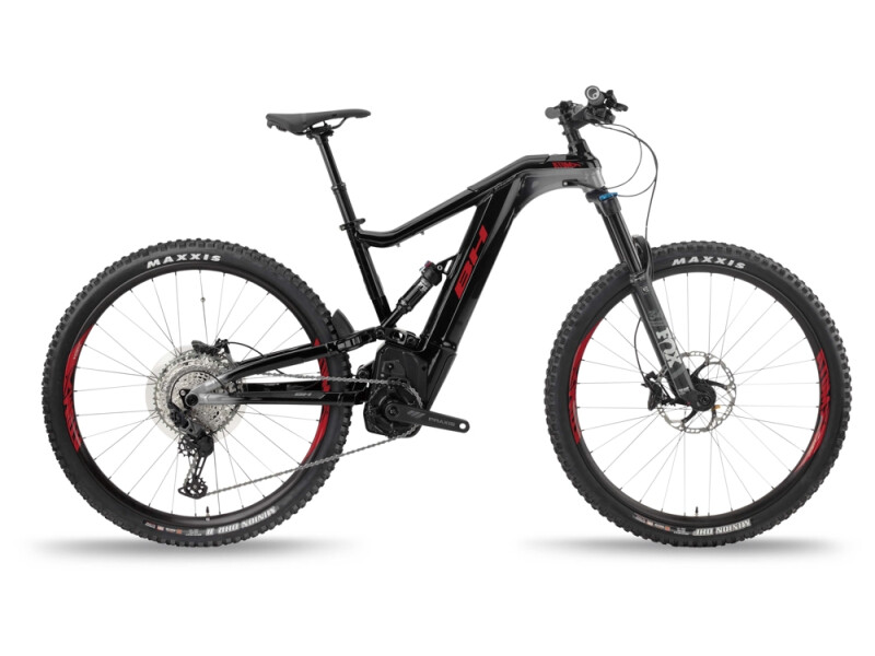 BH Bikes ATOMX LYNX 5.5 PRO Black-Silver-Red