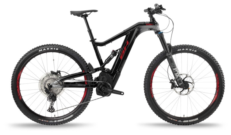 BH Bikes ATOMX LYNX 5.5 PRO Black-Silver-Red e-Mountainbike