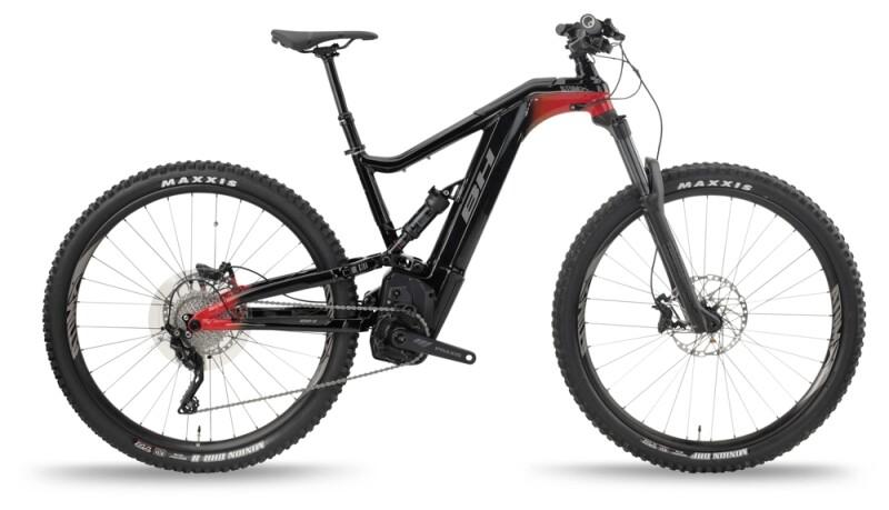 BH Bikes ATOMX LYNX 5.5 PRO-L Black-Red-Grey e-Mountainbike