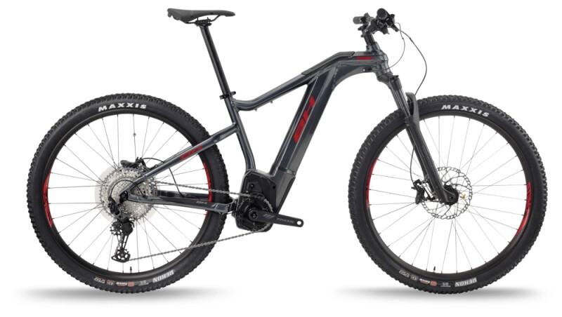 BH Bikes ATOMX PRO-S Anthracite-Red e-Mountainbike