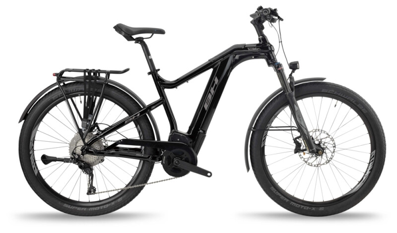 BH Bikes ATOMX CROSS PRO Black-Silver e-Mountainbike