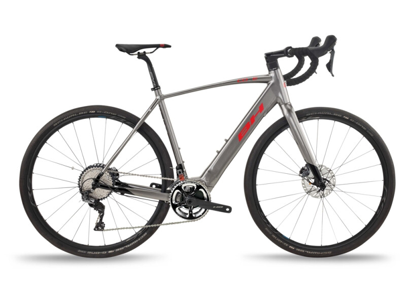 BH Bikes CORE GRAVELX 2.4 Grey-Black-Red