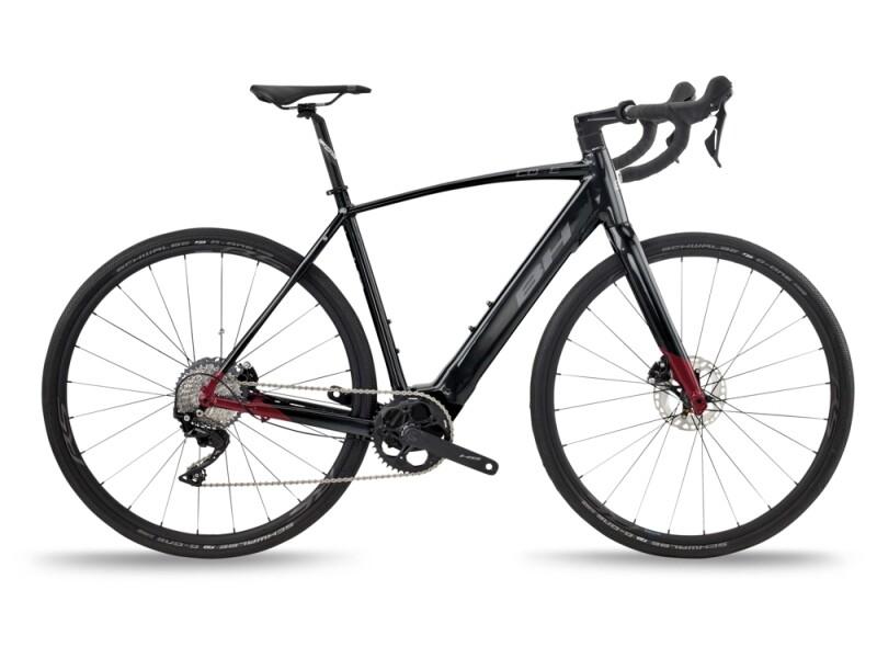 BH Bikes CORE GRAVELX 2.2 Black-Red-Grey