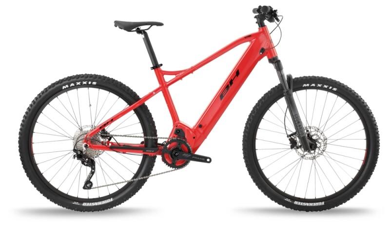 BH Bikes ATOMS 27,5 PRO Red-Black e-Mountainbike