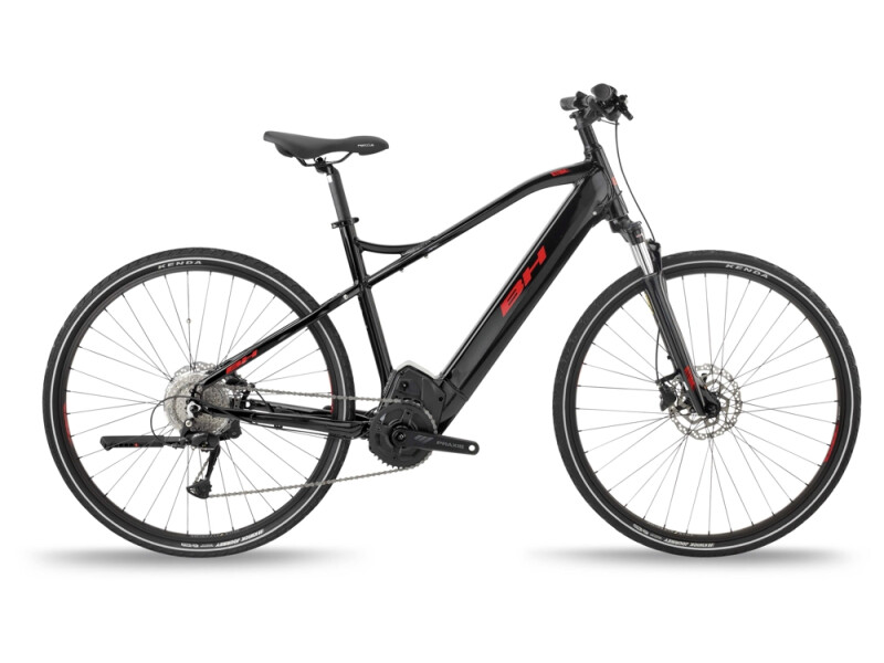 BH Bikes ATOMS CROSS PRO Black-Red