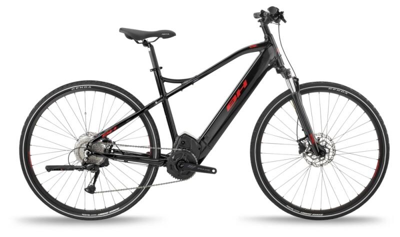 BH Bikes ATOMS CROSS PRO Black-Red e-Urbanbike