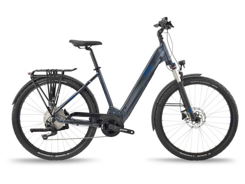 BH Bikes ATOMS SUV PRO Silver-Blue