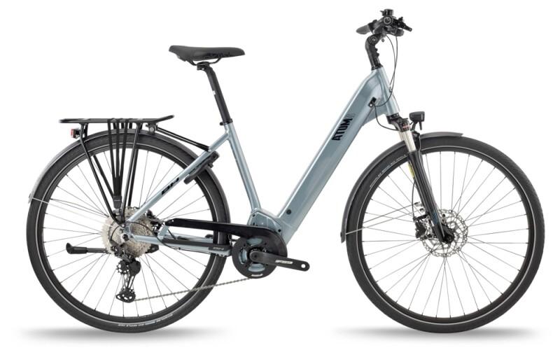 BH Bikes ATOMS CITY WAVE PRO-S Silver-Black e-Trekkingbike