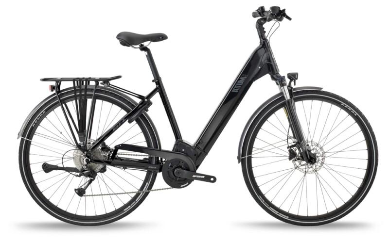 BH Bikes ATOMS CITY WAVE PRO Black-Silver e-Trekkingbike