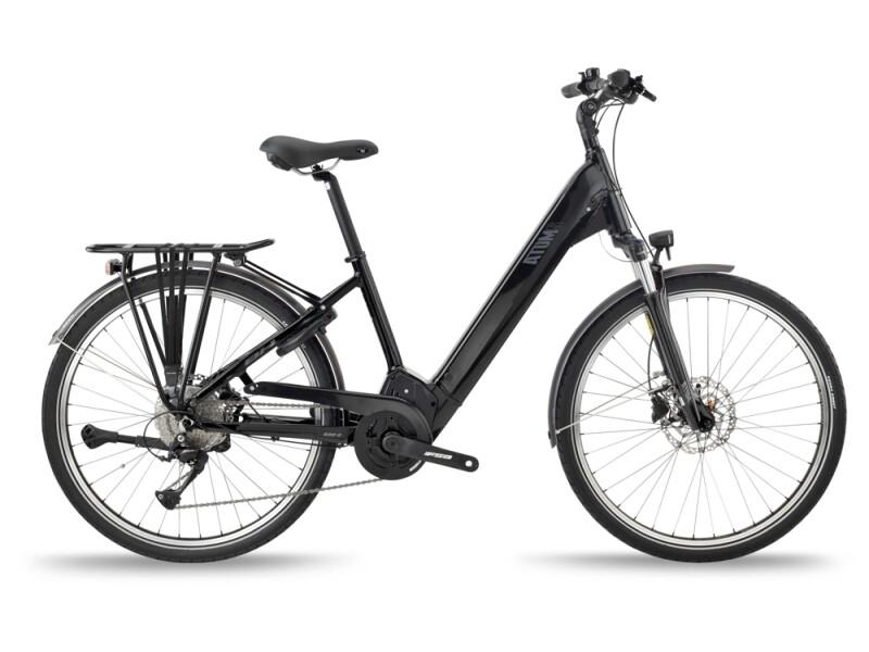 BH Bikes ATOMS STREET PRO Black-Silver