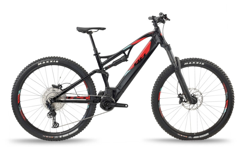BH Bikes ATOM LYNX 5.5 PRO Black-Red e-Mountainbike