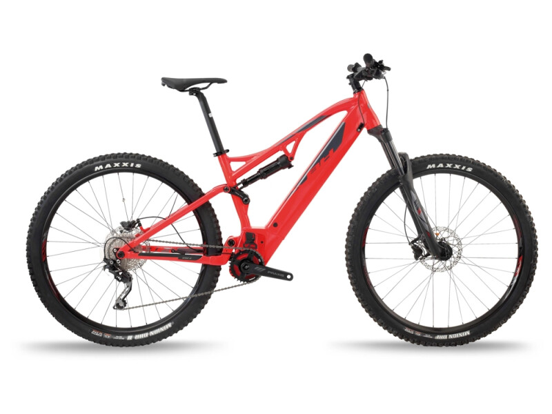 BH Bikes ATOM LYNX 5.5 Red-Silver