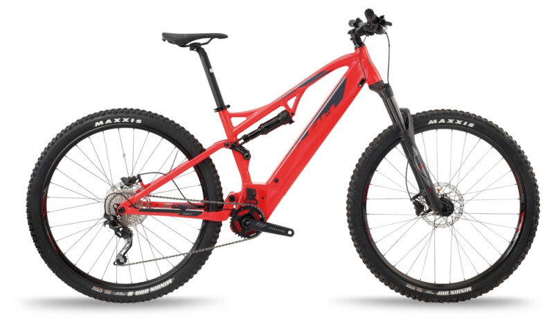 BH Bikes ATOM LYNX 5.5 Red-Silver e-Mountainbike