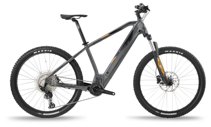 BH Bikes ATOM PRO Grey-Silver-Orange e-Mountainbike