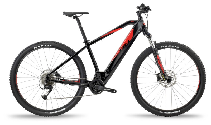 BH Bikes ATOM 29 Black-Red e-Mountainbike