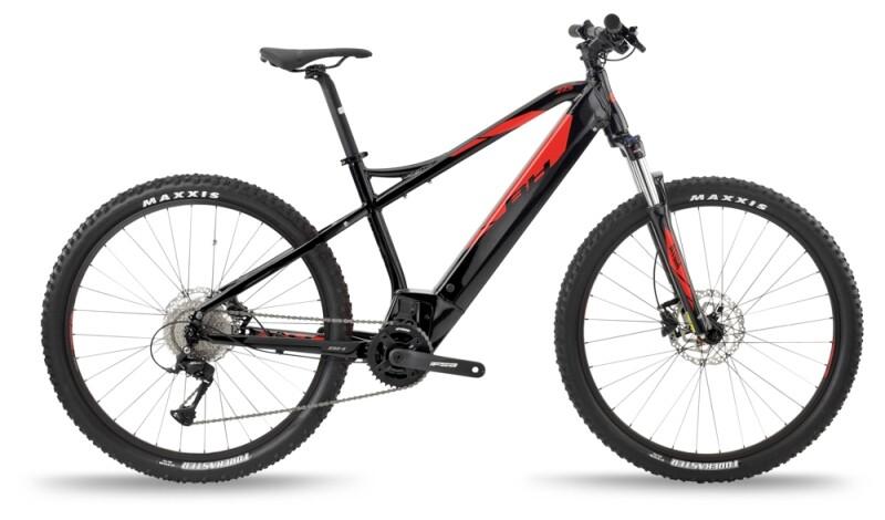 BH Bikes ATOM 27'5 Black-Red e-Mountainbike