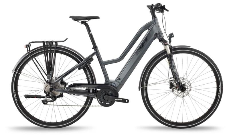 BH Bikes ATOM JET PRO Grey-Black e-Trekkingbike