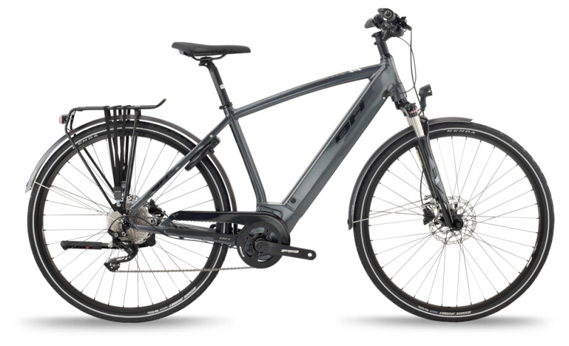 BH Bikes ATOM CROSS PRO Grey-Black e-Trekkingbike