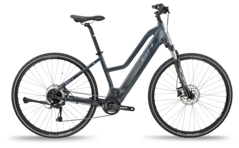 BH Bikes ATOM JET Grey-Silver e-Crossbike