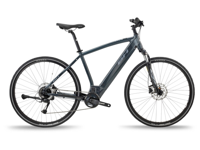 BH Bikes ATOM CROSS Grey-Silver