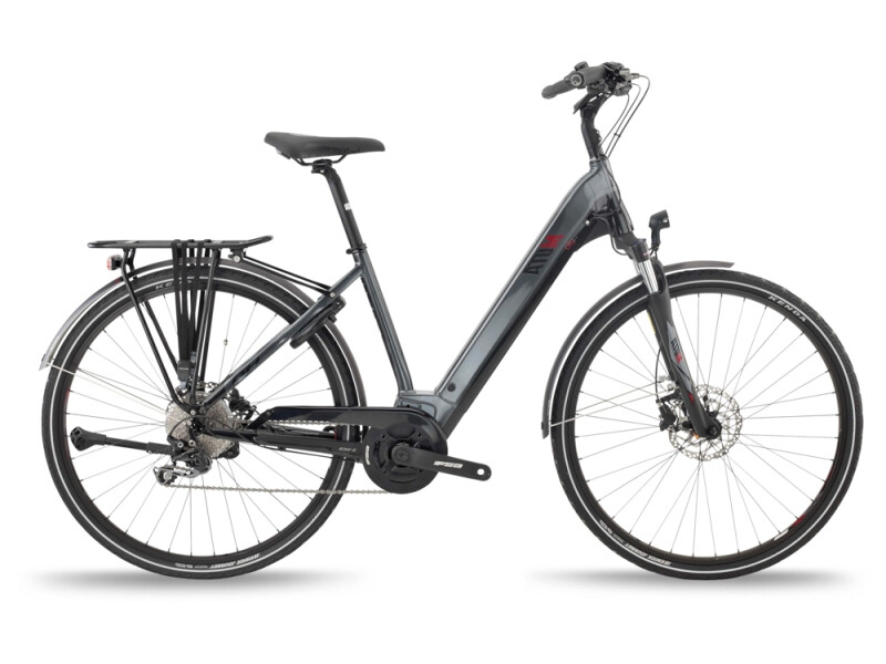 BH Bikes ATOM CITY WAVE PRO Grey-Black-Red