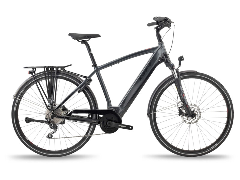 BH Bikes ATOM CITY PRO Grey-Black-Red