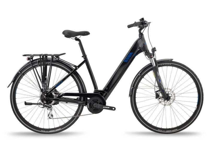 BH Bikes ATOM CITY WAVE Black-Blue