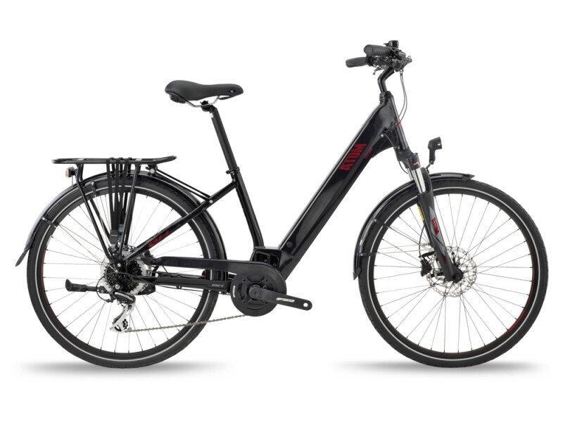 BH Bikes ATOM STREET Black-Red