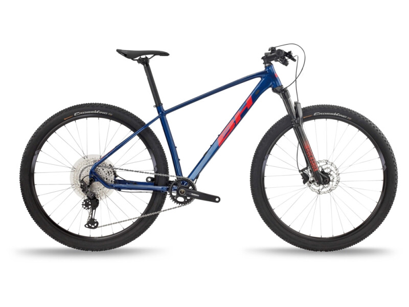 BH Bikes EXPERT 4.5 Blue-Red-Grey
