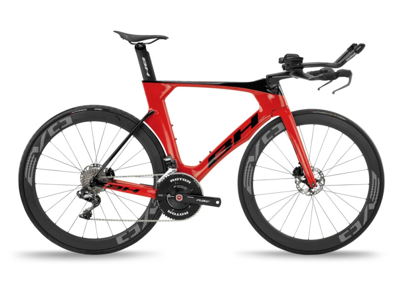 BH Bikes AEROLIGHT Disc 5.0 Red-Black