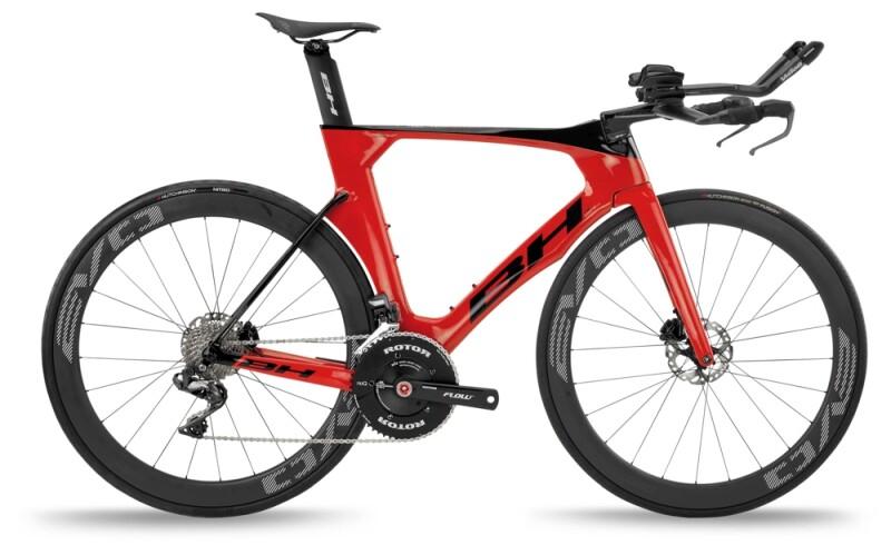 BH Bikes AEROLIGHT Disc 5.0 Red-Black Race