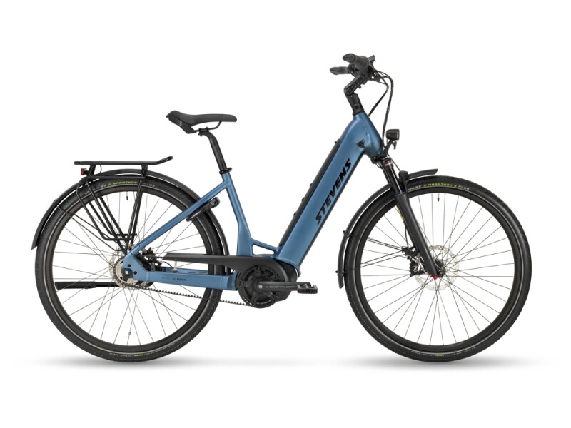 Stevens E-Courier Plus Forma Silver Blue