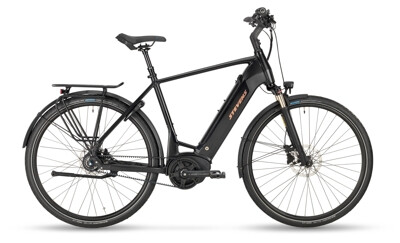 Stevens E-Courier Luxe Gent Stealth Black