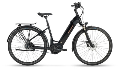 Stevens E-Courier Luxe Forma Stealth Black